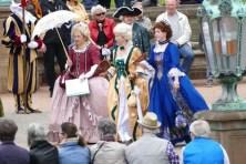 Barocke Kleider Einzug der Orangen Zwinger