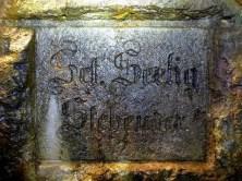 Bergmann Gedenktafel Reiche Zeche Freiberg