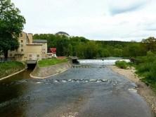Zschopautal Flussbett Zschopau