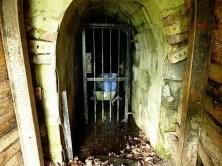 GIttertür Eingang Stollen