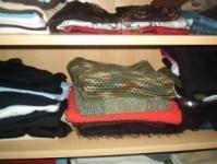 Frühjahrs-Putz auch im Kleiderschrank