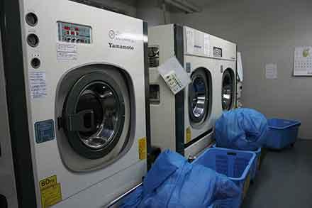 ドライクリーニングと水洗い両方完備