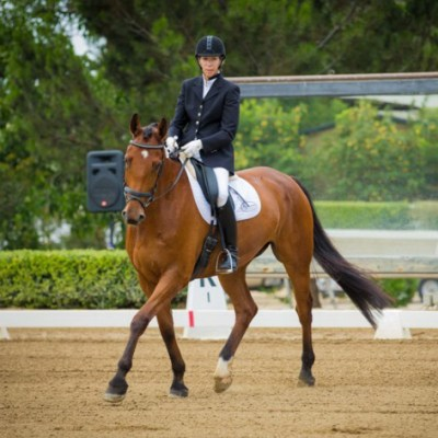 WHAT MAKES AN EQUESTRIAN ATHLETE? ANSWERED BY MELONIE KESSLER