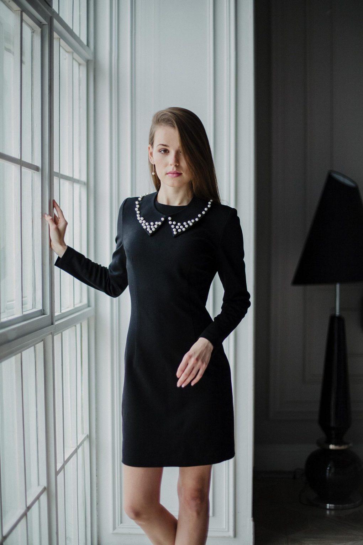 Dressarte-organic-cotton-mini-black-dress-1