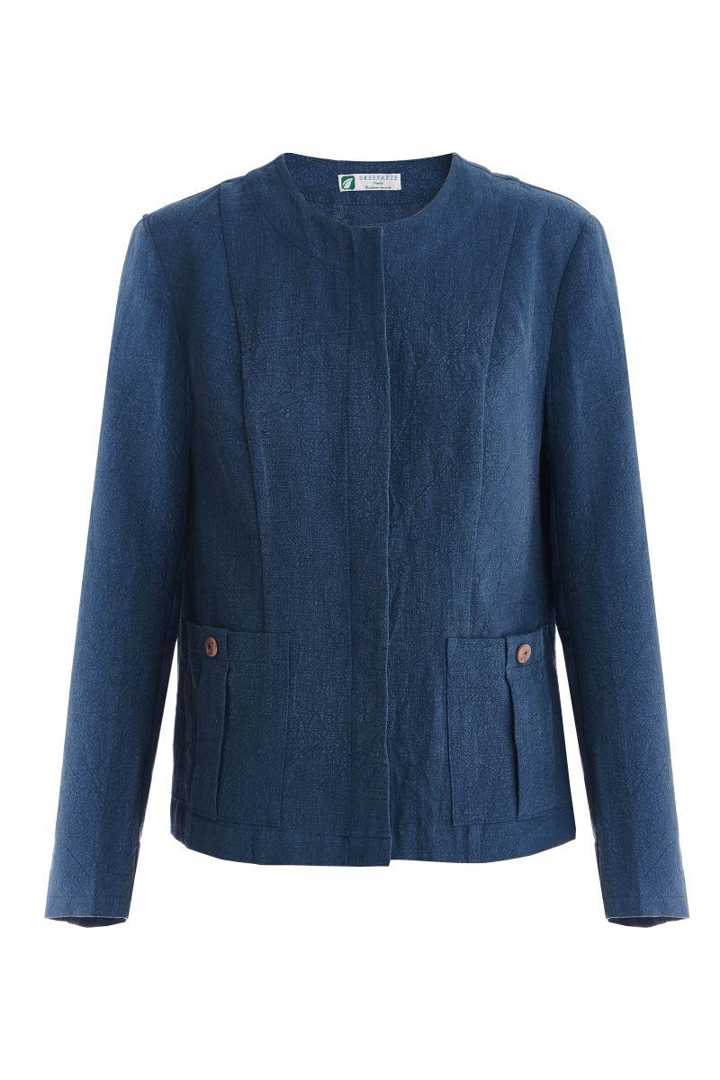 Blue-ramie-jacket