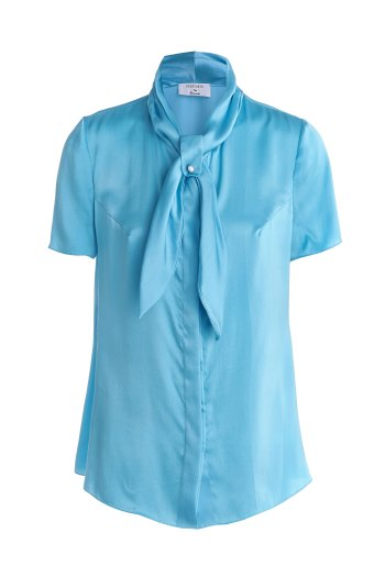 Blue-silk-long-sleeve-made-to-measure-blouse-1