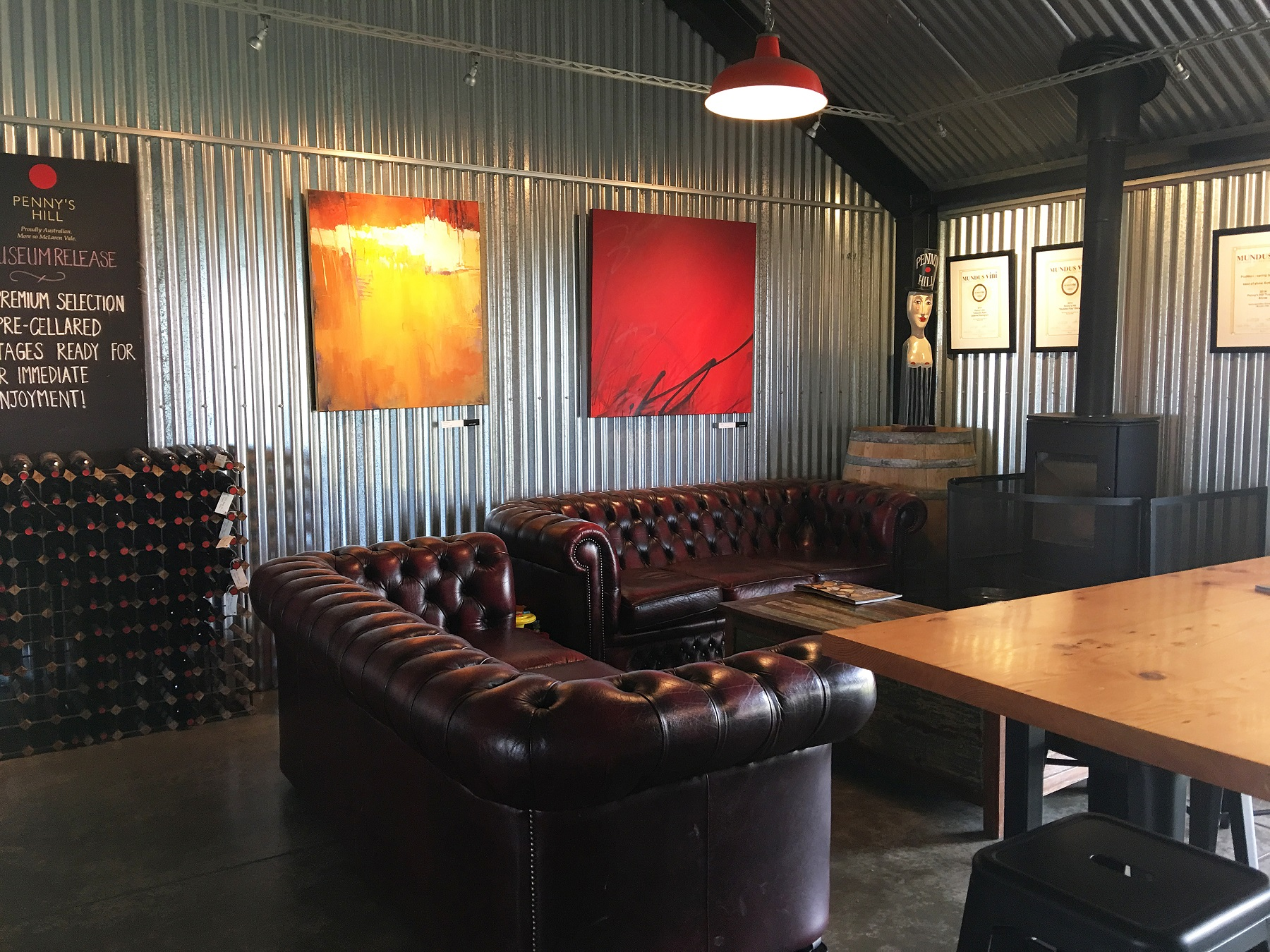 Restaurant Kitchen Terms dressed in copper | penny's hill cellar door and kitchen door