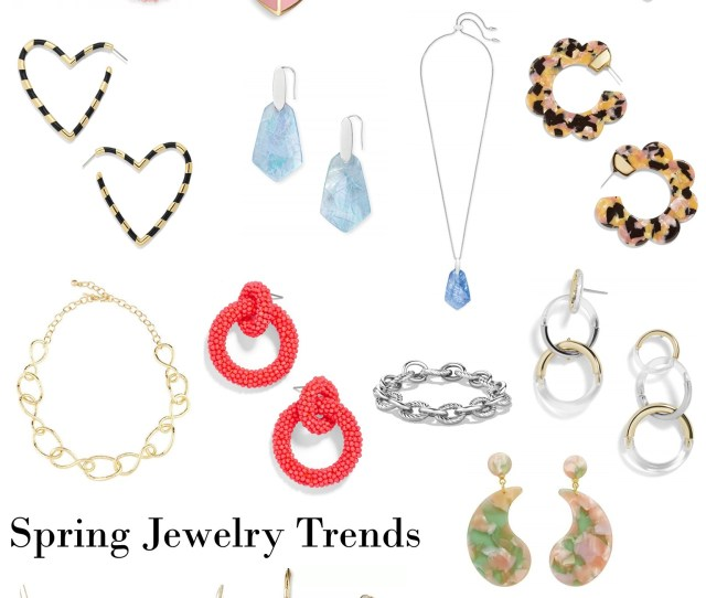 Jewelry Trends Spring  Dressed In Faith