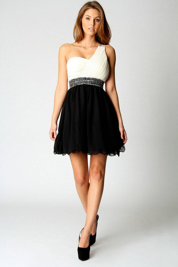One Shoulder Cocktail Dress Dressed Up Girl
