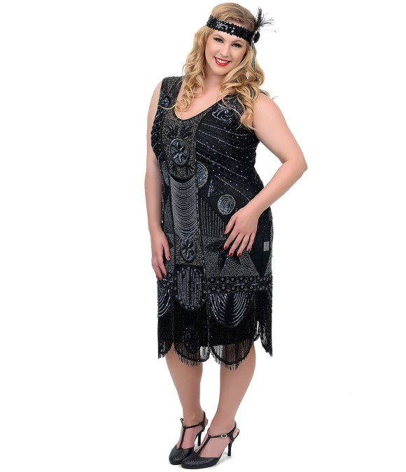 Plus Size Flapper Dress | Dressed Up Girl