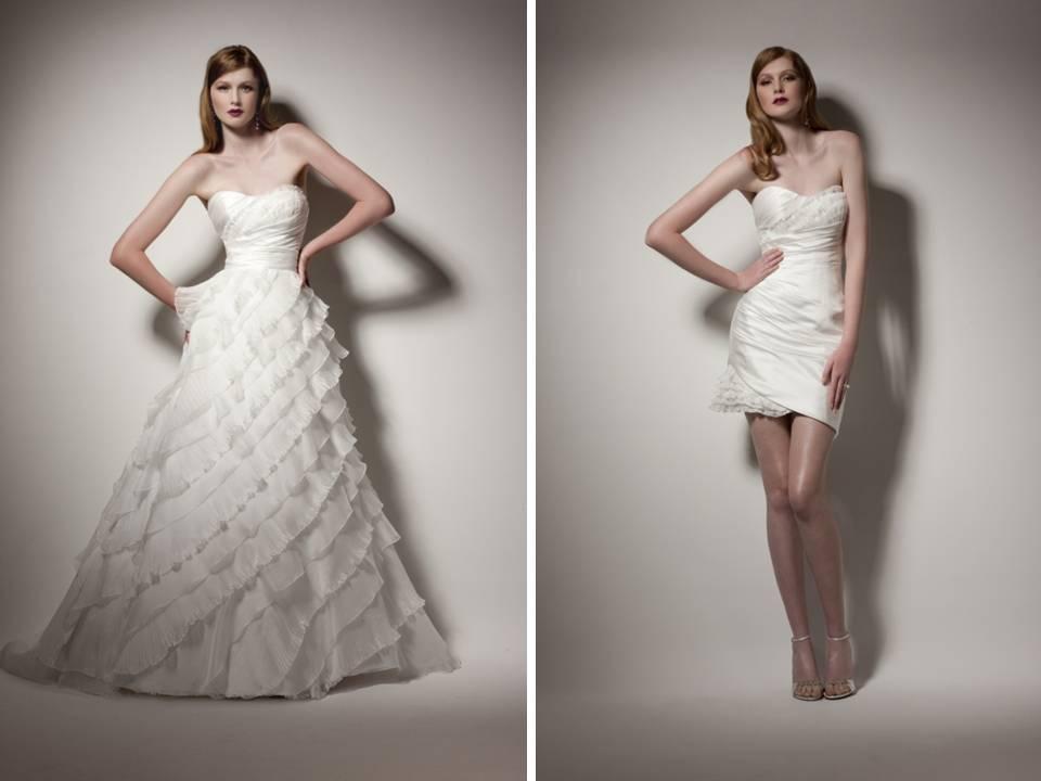 Convertible Wedding Dress Dressed Up Girl