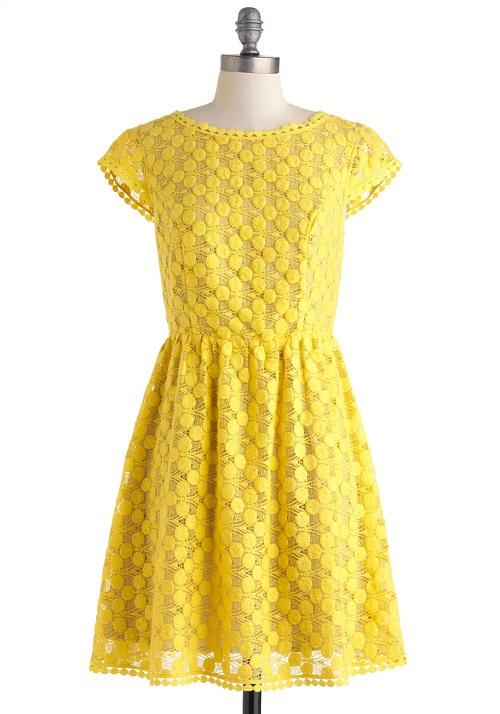 Yellow Dress Juniors
