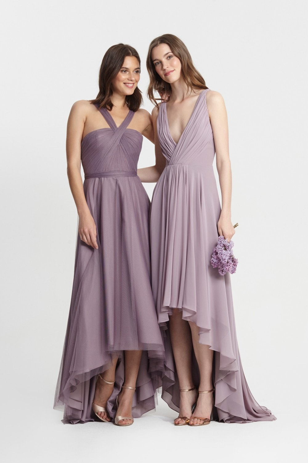 Bridesmaids Dresses Light Blue