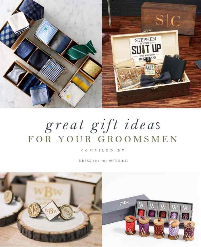 ee6fb948ed35 Great gifts for groomsman | What to give your groomsmen