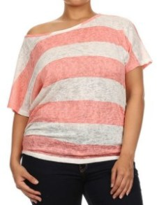 dressing room 8 off shoulder top