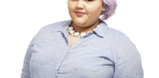 project runway's ashley nell tipton, plus size designer