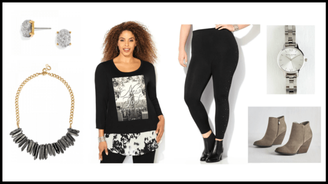 NY Fall Look plus size