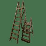 Wooden Vintage Ladder Dress It Yourself