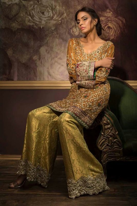 Pakistani Designer Party Wear Dresses 2017