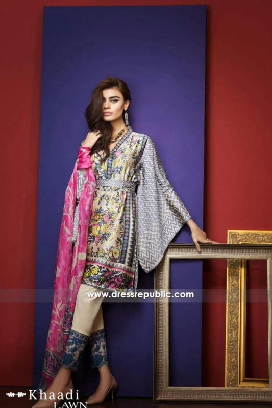 DRP6204 - Khaadi Silk 2016 Collection