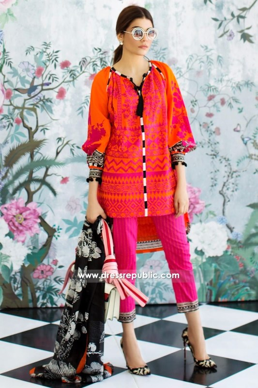 DRP6219 - Sana Safinaz Lawn Collection March 2017
