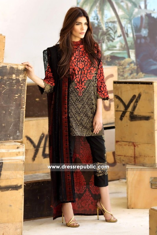 DRP6223 - Sana Safinaz Lawn Collection March 2017