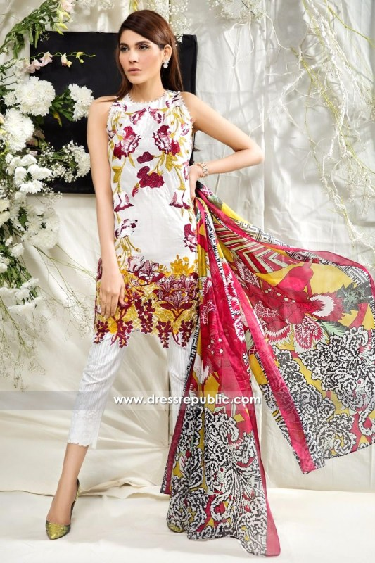 DRP6226 - Sana Safinaz Lawn Collection March 2017