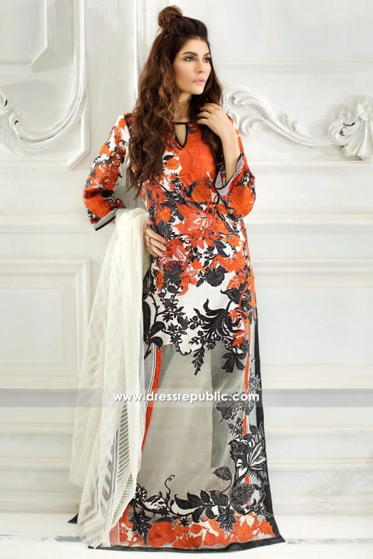 DRP6227 - Sana Safinaz Lawn Collection March 2017