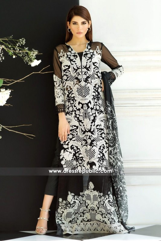 DRP6229 - Sana Safinaz Lawn Collection March 2017
