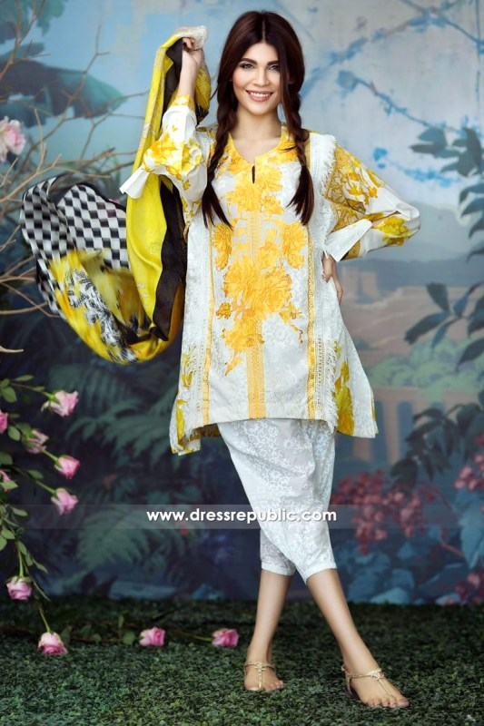 DRP6231 - Sana Safinaz Lawn Collection March 2017