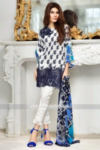 DRP6233 - Sana Safinaz Lawn Collection West Midlands UK