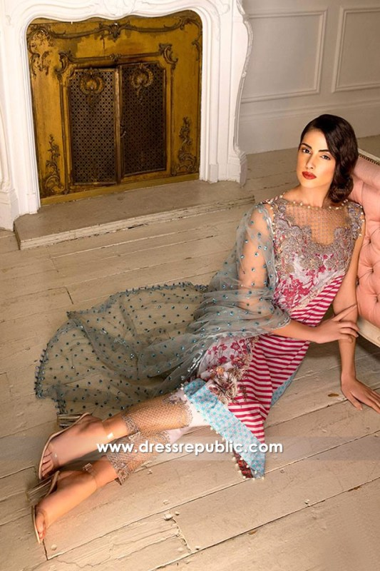 DRP6286 - Sobia Nazir Spring Summer Lawn 2017