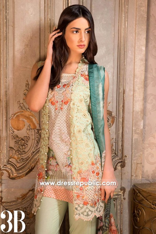 DRP6289 - Sobia Nazir Spring Summer Lawn 2017