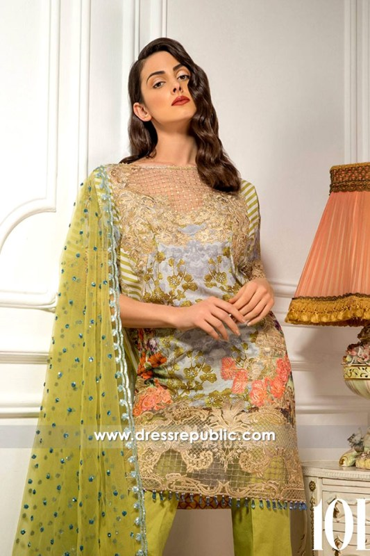 DRP6291 - Sobia Nazir Spring Summer Lawn 2017
