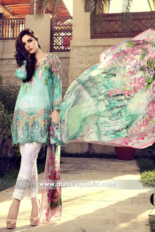 DRP6313 - Maria B Pakistani Lawn Dresses UK & Ireland