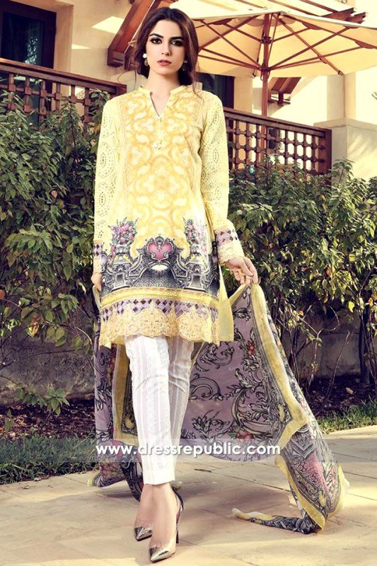 DRP6314 - Maria B Lawn Dresses 2017 UK and Ireland