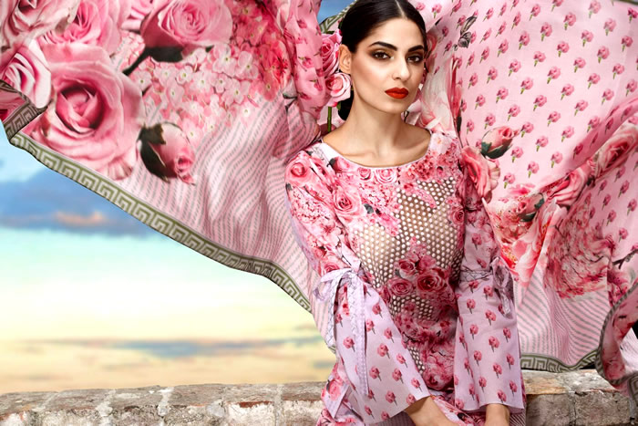 Sonia Azhar Luxury Lawn 2017 Now Available