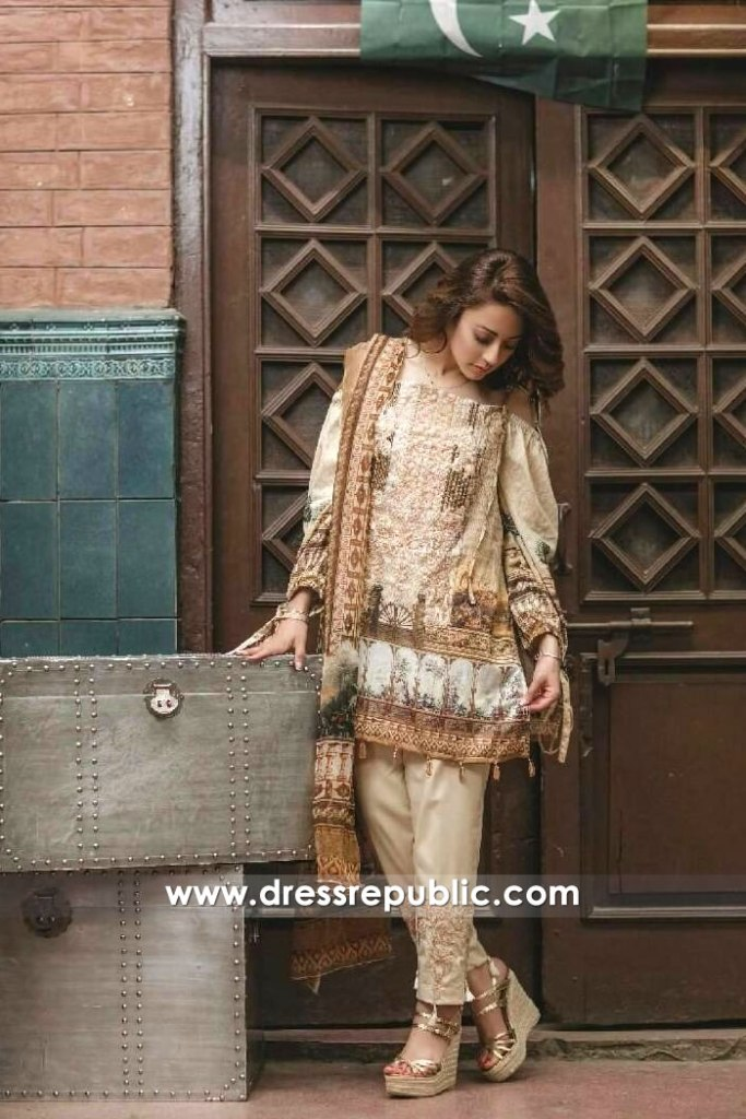 DR6501 - Rang Rasiya Lawn EID Collection 2017
