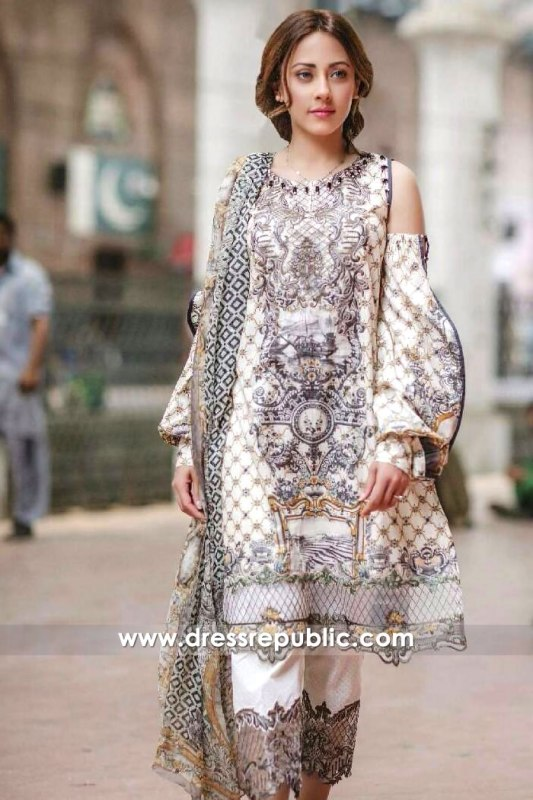 DR6506 - Rang Rasiya Lawn 2017 EID Collection