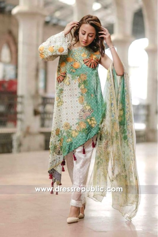 DR6511 - Rang Rasiya Lawn 2017 EID Collection