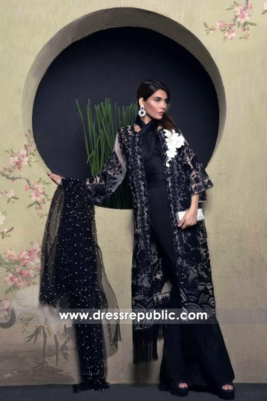 DRP6694 - Sana Safinaz Luxury Collection 2017