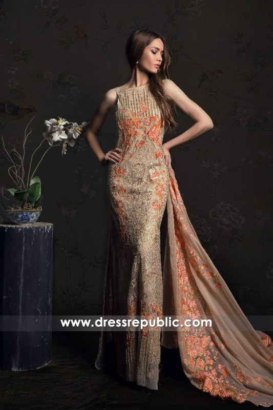 DRP6701 - Pakistani Designer Lawn Brands Online Shop With Stitching & Delivery