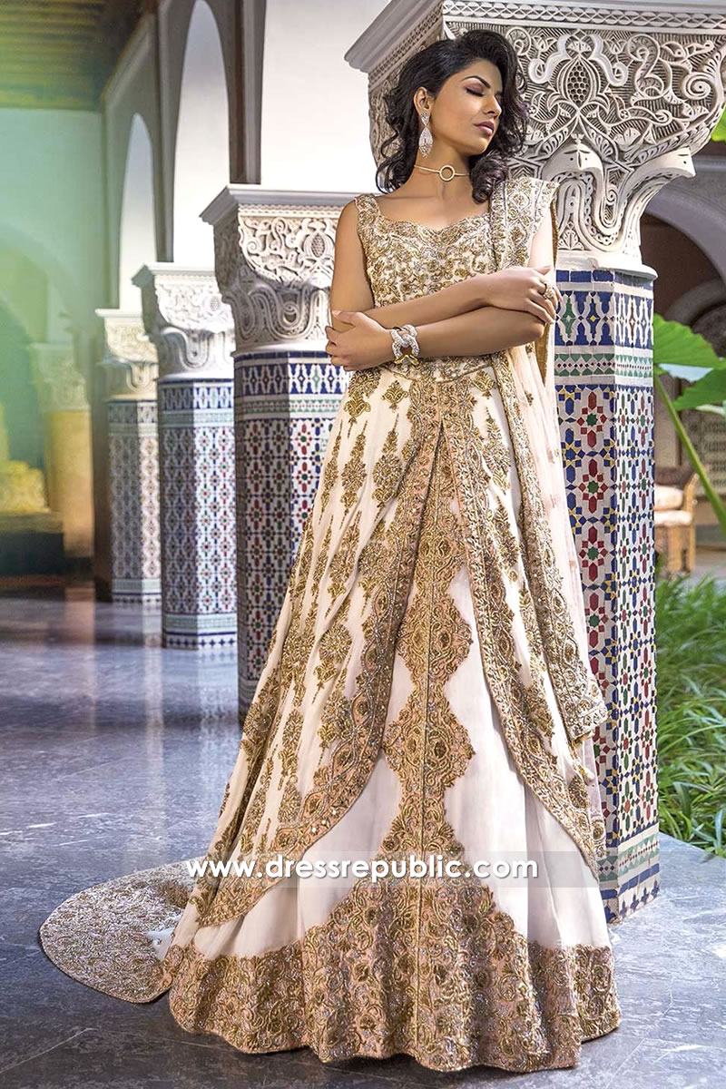 DR14283 - Lehenga Choli for Pakistani & Indian Brides in UK
