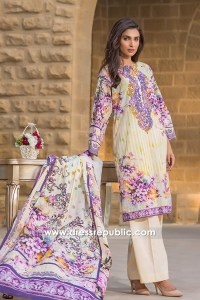DRP6791 - Shop Online Firdous Cambric Lawn 2017 in Miami, FL