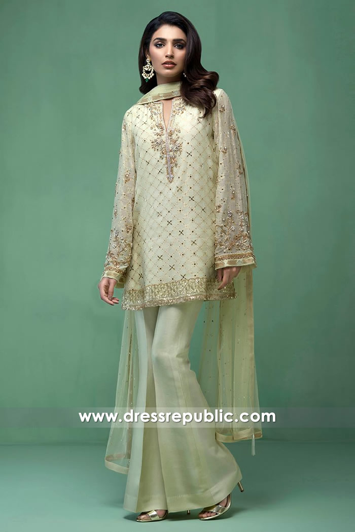 DR14417 - Pakistani Designer Party Dresses 2017 Canada