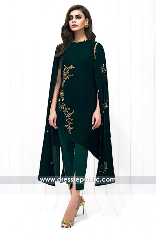 DR14428 - Sania Maskatiya Velvet Collection 2017