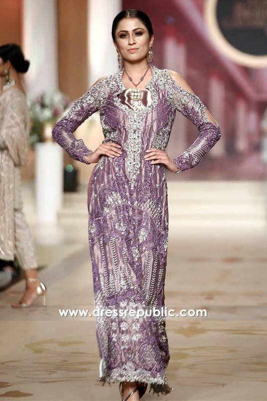DR14479 - Periwinkle Purple Long Dress