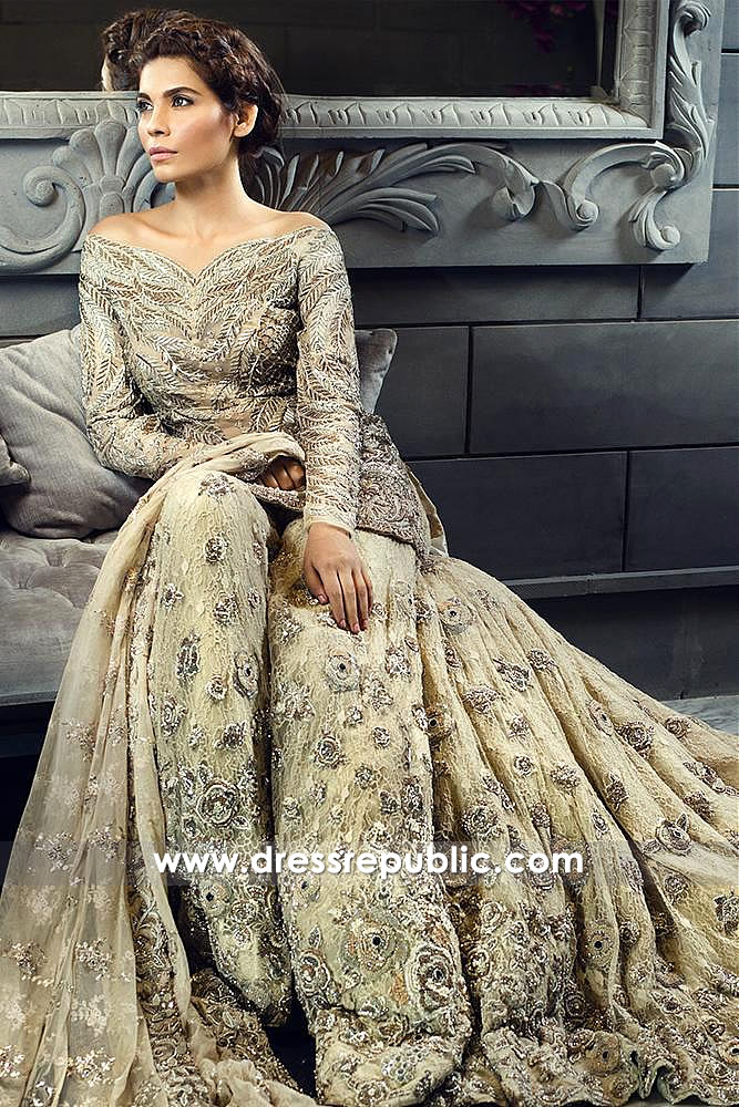 DR14590 Ammara Khan Latest Bridal Collection Shop Online in USA