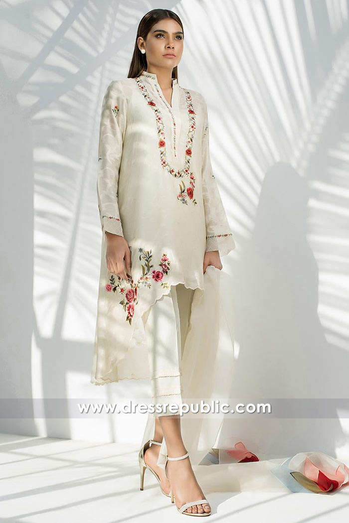 DR14599 Sania Maskatiya Kurti Collection 2018 in Toronto, Vancouver, Canada