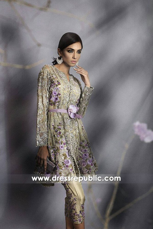 DR14642 Sana Safinaz Wedding Guest Dresses 2018 USA, UK, Canada, Australia
